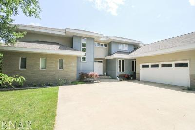 Downs Single Family Home For Sale: 9523 Abbey Way