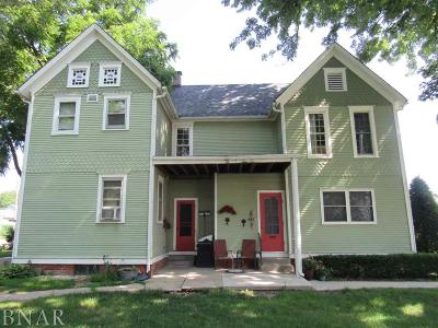 Clinton IL Multi Family Home Pending: $79,500