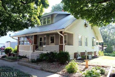 Clinton IL Single Family Home Pending: $84,900