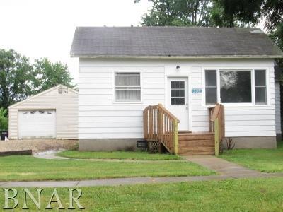 Weldon Single Family Home For Sale: 335 High