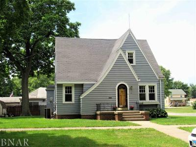 Clinton IL Single Family Home For Sale: $91,900