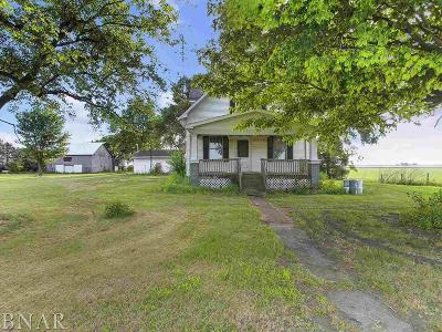 Heyworth Single Family Home For Sale: 1768 N 1200 East Rd