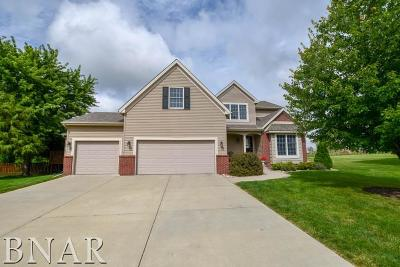 Downs Single Family Home For Sale: 16 Quail Ct.