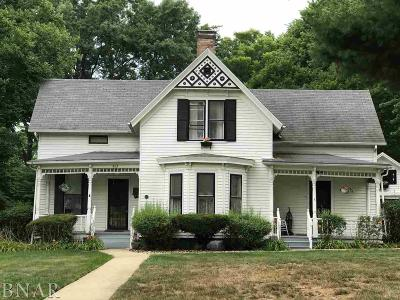 Normal Single Family Home For Sale: 605 N School