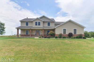 Wapella Single Family Home For Sale: 7966 Heron's Glenn Ct
