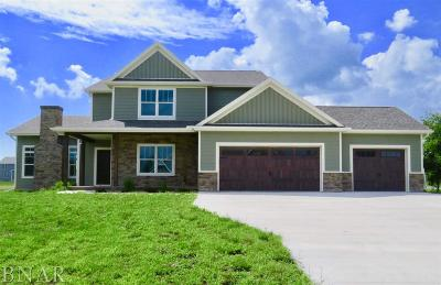 Downs Single Family Home For Sale: 36 River Run