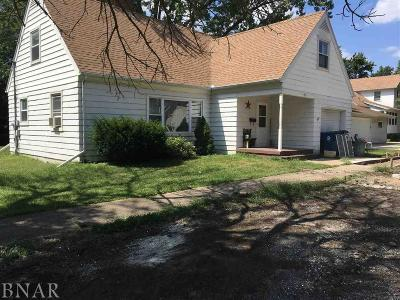 Single Family Home For Sale: 307 S Clinton