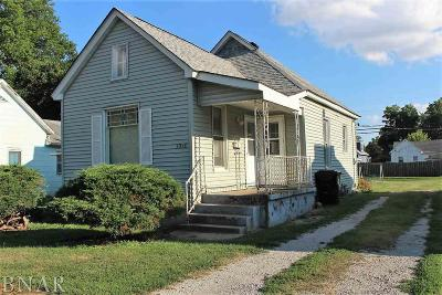 Clinton IL Single Family Home Pending: $19,500