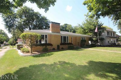 McLean Single Family Home For Sale: 309 W Morgan St.