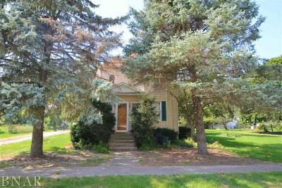 Chenoa Single Family Home For Sale: 31408 Center