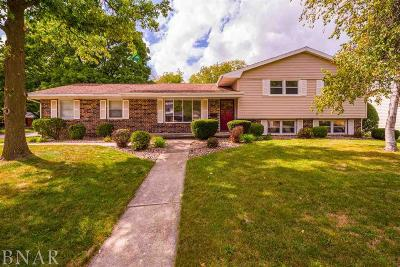 Normal Single Family Home For Sale: 105 S Blair Drive