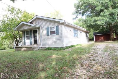 Heyworth Single Family Home For Sale: 311 N Buchanan