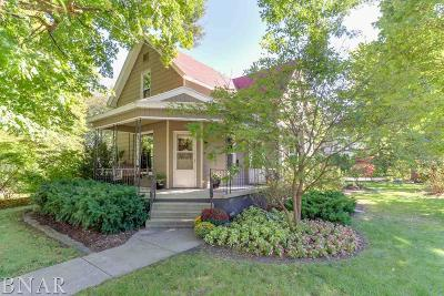 LeRoy Single Family Home For Sale: 511 N Chestnut