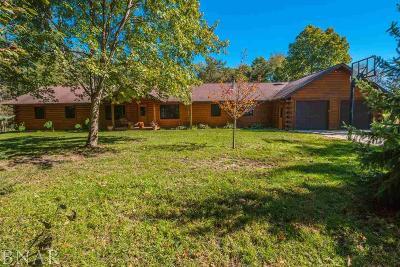 Lexington Single Family Home For Sale: 21983 N 2650 East Rd