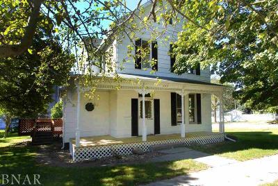 Lexington Single Family Home For Sale: 208 N Cedar