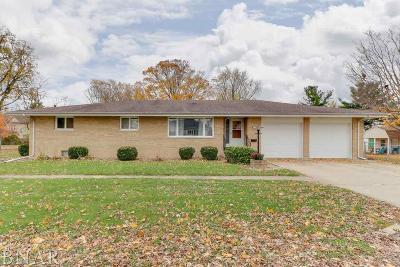 Chenoa Single Family Home For Sale: 120 W Kentucky St.