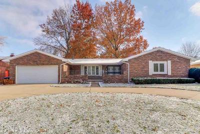Normal Single Family Home For Sale: 1204 N Linden