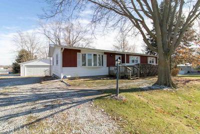 Lexington Single Family Home For Sale: 25203 N 2175 East Rd