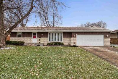 Normal Single Family Home For Sale: 1401 N Walnut
