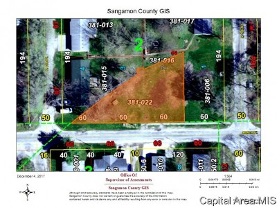 Auburn Residential Lots & Land For Sale: 1006 W North Street