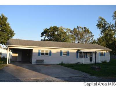 Carlinville Single Family Home For Sale: 415 Church