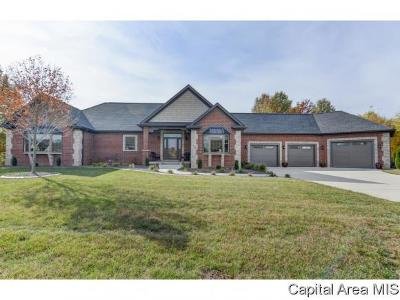 Sherman IL Single Family Home For Sale: $639,900