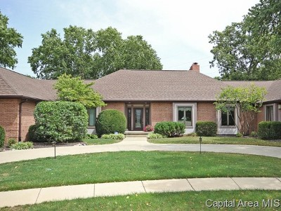 Springfield Single Family Home For Sale: 1908 Oak Creek Road
