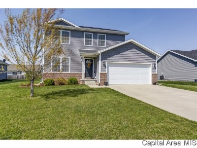 Chatham Single Family Home For Sale: 1705 Prairie Vista