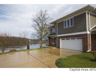Sangamon County Single Family Home Pending Continue to Show: 9 Waters Edge Blvd # 4