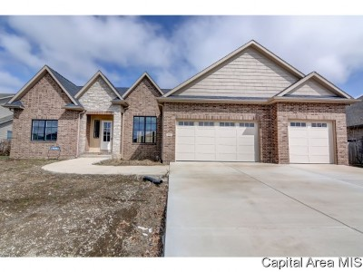 Springfield Single Family Home For Sale: 3605 Sandpiper