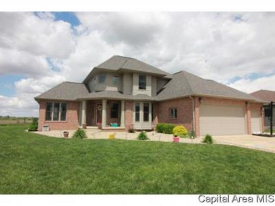 Sherman IL Single Family Home For Sale: $274,900