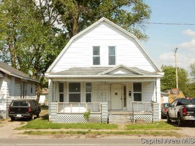 Springfield Single Family Home For Sale: 1904 S 11th Street