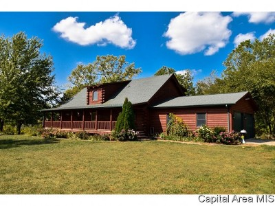 Pleasant Plains Single Family Home For Sale: 6008 Stagecoach Rd