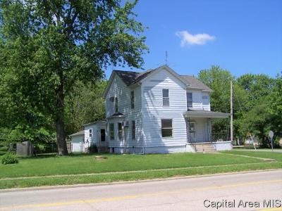 Virden Single Family Home Pending Continue to Show: 721 N Springfield St