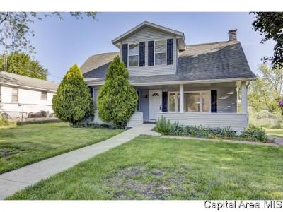 Pawnee Single Family Home For Sale: 809 Washington St.