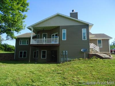 Pleasant Plains Single Family Home For Sale: 5756 Richland Rd.
