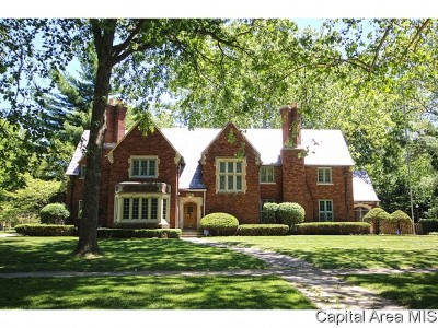 Springfield Single Family Home For Sale: 1700 S Wiggins Ave