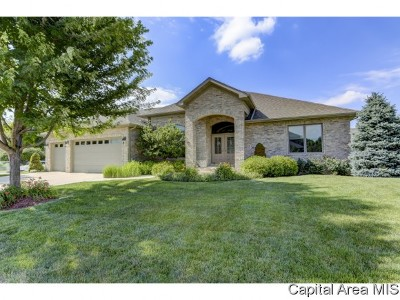 Springfield Single Family Home For Sale: 2321 Grey Stone Dr