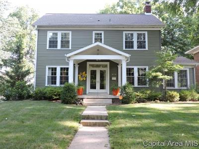 Springfield Single Family Home For Sale: 1016 Woodland Ave.