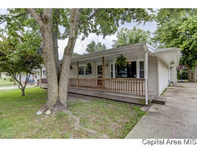 Auburn Single Family Home For Sale: 413 E Washington St