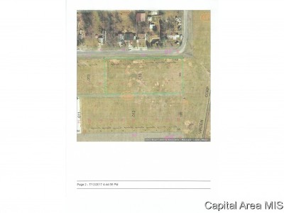 Virden Residential Lots & Land For Sale: 1-7 E Lincoln St