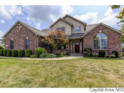 Springfield Single Family Home For Sale: 4304 Stonegate