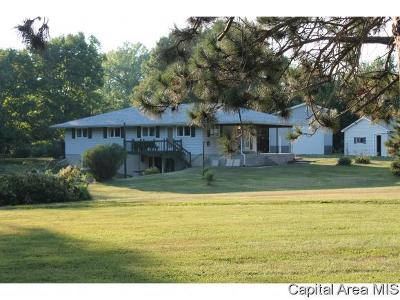 Rochester Single Family Home For Sale: 6180 Chicken Bristle Rd