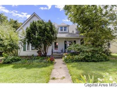 Pleasant Plains Single Family Home For Sale: 216 E Main St
