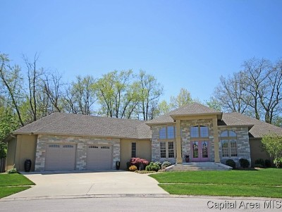 Springfield Single Family Home For Sale: 1350 Churchill Rd