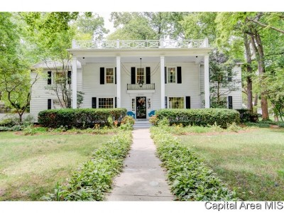 Springfield Single Family Home For Sale: 2001 S Wiggins Ave