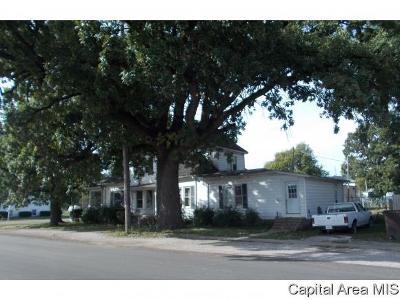 Virden Multi Family Home For Sale: 304 N Springfield