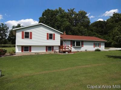 Virginia Single Family Home Pending Continue to Show: 10247 Illinois Route 78
