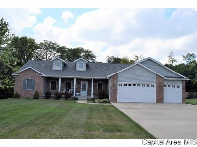 Chatham Single Family Home For Sale: 9673 Wildwood Ln