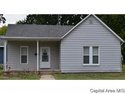 Virden Single Family Home For Sale: 1141 N Noble St